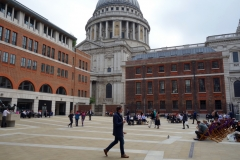 Paternoster Square, City of London.