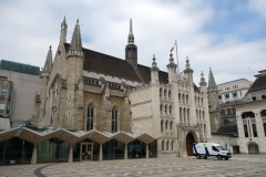 Guildhall Yard, City of London.