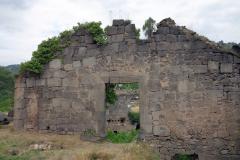 Ruiner, Akhtala Monastery, Armenien.