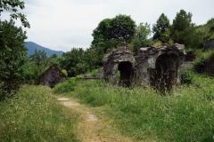 Ruiner, Sanahin Monastery, Armenien.