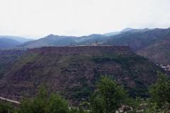 Utsikt över Debed Valley nära Sanahin, Armenien.