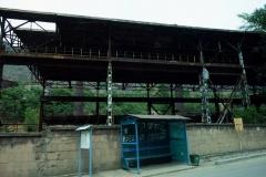 Industribyggnad i Alaverdi, Armenien.