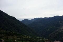 Utsikten från Haghpat Monastery, Armenien.