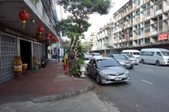 Gatuscen i Chinatown, Bangkok.