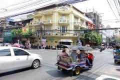 Arkitekturen i Chinatown, Bangkok.