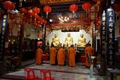 Wat Bampen Chin Phrot, Chinatown, Bangkok.