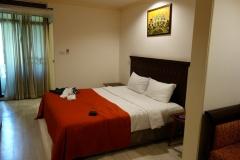 Rummet på The Victory Residences Hotel, Bangkok.