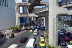Rama I road, Bangkok.