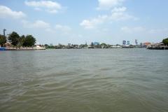 På båten över till Koh Kret, Chao Praya river, Nonthaburi