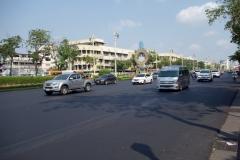 Ratchadamnoen Klang Road, Bangkok.