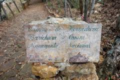 Starten på Camino Real från Barichara.