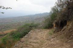 Camino Real mellan Barichara och Guane.