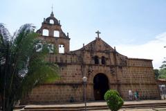 Parroquia de Santa Lucía, Parque Principal, Guane.