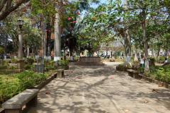 Parque Principal, Barichara.