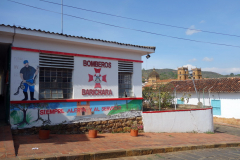 Brandstationen ii Barichara.