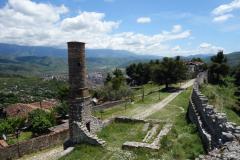 Det som är kvar av den Röda Moskén, Berat Castle, Berat.