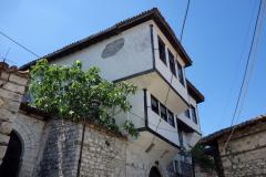 Bostadshus i Berat Castle, Berat.