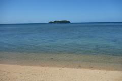 Lilla Dalutan island en bit utanför Biliran.
