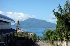 Maripipi island från Kawayan på Bilirans norra kust.