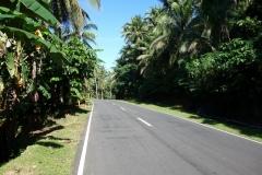 Den fina vägen längs Bilirans norra kust.