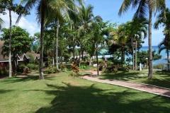 Santiago Bay Garden & Resort upptar den kanske mest attraktiva tomten på hela Pacijan island.