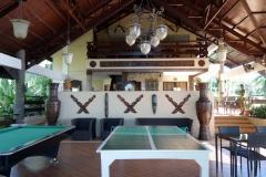 Receptionsbyggnaden på Santiago Bay Garden & Resort, Pacijan.