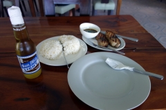 Tonfiskmiddag på Santiago Bay Garden & Resort, Pacijan.