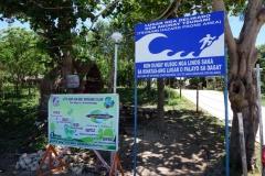 Information om risk för tsunamis, Esperanza, Pacijan.