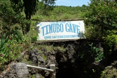 Ingången till Timubo Cave, Pacijan.