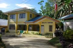 Vårdcentral i barangay Altavista, Poro island.