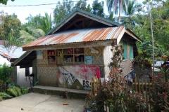 Sari-sari store i barangay Altavista, Poro island.