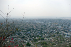 Utsikten från Convento de la Popa, Cartagena.