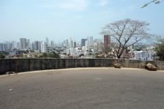 På väg ner från Convento de la Popa, Cartagena.