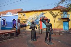 Plaza de la Santísima Trinidad, Getsemani, Cartagena.