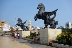 Muelle de Los Pegasos, Cartagena.