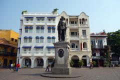 Monumento Pedro de Heredia, Plaza de Los Coches, Cartagena.