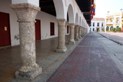 Plaza de la Aduana, Cartagena.