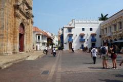 Plaza San Pedro Claver, Cartagena.