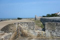 Las Murallas, gamla staden, Cartagena.