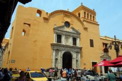 Iglesia de Santo Domingo, Plaza Santo Domingo, Cartagena.
