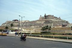Castillo San Felipe de Barajas inom synhåll, Cartagena.
