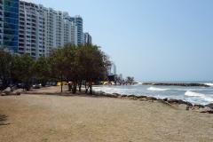 Playa Bocagrande, Cartagena.