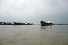 Karnaphuli River, Chittagong.