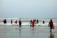 Stranden i Cox's Bazar.
