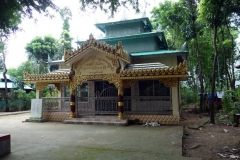 Maheskhali Buddist Temple.  Gorakghata, Maheskhali island.