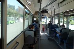 Lokalbuss från centrum upp till linbanan för vidare färd upp till Mount Dajti, Tirana.