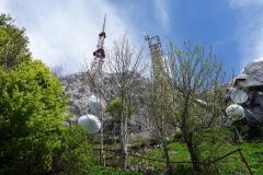 Toppen av Mount Dajti.