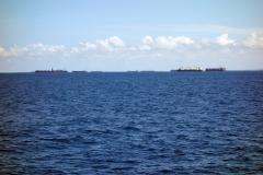 Fartyg utanför Dar es-Salaam.