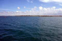Strand nära Dar es-Salaam.