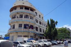 Arkitekturen i stadsdelen Mchafukoge, Dar es-Salaam.